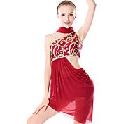 economico -Danza classica Gioielli per capelli Più materiali Paillettes Per donna Addestramento Prestazioni Senza maniche Chinlon Licra
