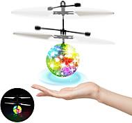 abordables -Balle volante balles de vol lumineuses pour enfants à induction infrarouge jouets télécommandés pour avions flash LED jouets pour avions légers