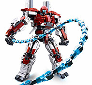 abordables -Blocs de Construction Jouet Educatif Jeu de construction Jouets 462 pcs Dessin animé compatible Carcasse de plastique Legoing Exquis Fait à la main Jouets de décompression Bricolage Garçons et filles