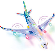 abordables -CAIPO 1:25 Petits Avions Modèle d'avion Avion Simulation Musique et Lumière Plastique Mini véhicules de voiture jouets pour cadeau d'anniversaire ou cadeau d'anniversaire pour enfants A380 / Enfant