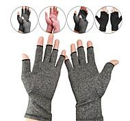 abordables -1 paire de gants de compression gants d'arthrite pour femmes hommes gants du canal carpien soulagent la douleur arthritique conception sans doigts tissu respirant qui évacue l'humidité ajustement