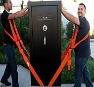 abordables -bandoulière / ceinture type élingue ceinture mobile polyester ceinture de transport meubles transportant corde sangle inclus 2 sangles auxiliaires 4 boucles métalliques