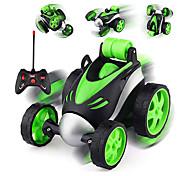 abordables -voiture télécommandée - voiture de cascade rc pour jouets de garçon, voiture de course à rotation à 360 degrés, voitures rc flip and roll, jouet de voiture de cascade pour enfants