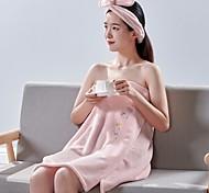 abordables -Serviette de bain ménage serviette absorbante à séchage rapide jupe de bain sèche-cheveux cap set tube top peignoir