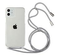 economico -telefono Custodia Per Apple Antiurto Fascia da braccio iPhone 12 Pro Max 11 SE 2020 X XR XS Max 8 7 6 Resistente agli urti Transparente Mattonella TPU