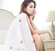 abordables -serviette de bain brodée enveloppe de serviette douce absorbante épaisse