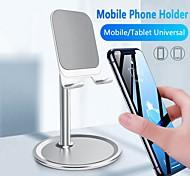 economico -Supporto per cellulare Da scrivania iPad Tavoletta Supporto regolabile Regolabili Metallo ABS Appendini per cellulare iPhone 12 11 Pro Xs Xs Max Xr X 8 Samsung Glaxy S21 S20 Note20