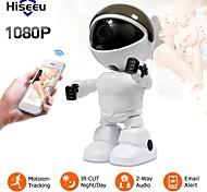 economico -Hiseeu FHK-1080P 2 mp Videocamera IP Al Coperto Supporto 64 GB / CMOS / Indirizzo IP dinamico  / SO iPhone / Android