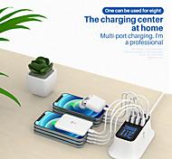 economico -Outlet di fabbrica 40 W Potenza di uscita USB Caricatore veloce Caricatore USB Ricarica veloce Zero Per iPad Xiaomi MI Cellulare HUAWEI Tavoletta