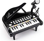 economico -giocattolo della tastiera del pianoforte del bambino per il primo regalo di compleanno dei ragazzi delle ragazze del bambino, musica multifunzionale a 24 tasti& set pianoforte per bambini sound