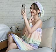abordables -Qualité supérieure Serviette de bain, Mode 100% Molleton Salle de  Bain 1 pcs