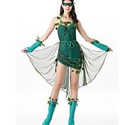 abordables -Costumes de Danse Robe Couleur Unie Femme Soirée Utilisation Sans Manches Mélange de Coton Elasthanne