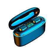 abordables -LITBest G5S Écouteurs sans fil TWS Casques oreillette bluetooth Bluetooth5.0 Smart Touch Stéréo Deux pilotes Couplage automatique Mobile Power pour les Smartphones pour Téléphone portable