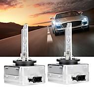abordables -1 paire d1s voiture lumière rapide lampe au xénon 6000k phares ampoule de rechange pour rv suv mpv voiture standard voltage12v