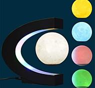abordables -Globe flottant Lune flottante Plans Conçu spécial Lévitation Magnétique Jouets de bureau Garçon Fille Pièces Plastique ABS de grade A Jouet Cadeau / 14 ans et +