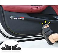 economico -car interior door anti-dirty pad anti-kick pad copertura di protezione della porta per bmw f30 f34 f10 f48 f25 f26 f15 f16 f01 g30 g32 g01