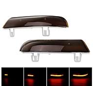 abordables -Otolampara paire de clignotants à LED dynamiques clignotants de rétroviseur lumières ambre pour vw golf 5 jetta mk5 passat b6