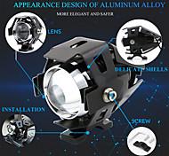 economico -1 pz faretti angel eyes 12v-80v u5 led per moto universale luce per auto drl faro per moto lampada ausiliaria interruttore di guida lampada stroboscopica nebbia