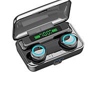 economico -iMosi F9-3 Auricolari wireless Cuffie TWS Bluetooth 5.1 Stereo Dotato di microfono Con il controllo del volume per Apple Samsung Huawei Xiaomi MI Sport Fitness
