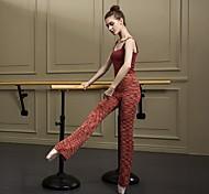 economico -Danza classica Calzamaglia / Pigiama intero A fantasia Per donna Addestramento Da tutti i giorni Senza maniche Naturale Cotone