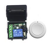 economico -interruttore di controllo remoto a canale singolo dc 12v / pulsante di apertura serratura elettrica controllo accessi / interruttore jog / codice di apprendimento 10a relè 433m