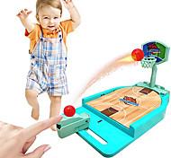 abordables -jeu de basket-ball toydesktop jeux de sport cadeaux de basket-ball jeu de basket-ball d'arcade de bureau jeu de tir de basket-ball en salle avec terrain de basket déplacer le panier amusant sport
