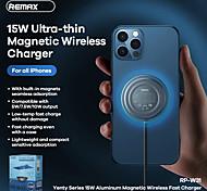 economico -Remax 15 W Potenza di uscita Pad di ricarica wireless Caricatore senza fili Caricatore senza fili CE Per Cellulare Apple iPhone 12 11 pro SE X XS XR 8 Samsung Glaxy S21 Ultra S20 Plus S10 Note20 10