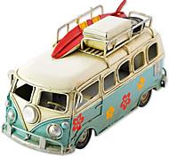 abordables -Petites Voiture Automatique Bus Véhicule de Ferme Alliage de métal Mini véhicules de voiture jouets pour cadeau d'anniversaire ou cadeau d'anniversaire pour enfants
