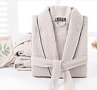 abordables -Qualité supérieure Peignoir, Mode Pur coton Chambre à coucher / Salle de  Bain 1 pcs