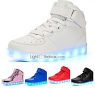 economico -Da ragazzo Da ragazza Scarpe da ginnastica LED Comoda Scarpe luminose Finta pelle Ragazzini (4-7 anni) Ragazzi (7 anni +) Casuale All'aperto Footing Lacci Chiusura a strappo o bottoncino LED Bianco