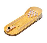abordables -mini bowling bureau en bois de table bowling jouet de bowling intérieur classique bureau balle conseil jouet