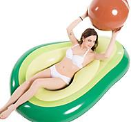 economico -piscina gonfiabile avocado galleggiante galleggiante con palla divertimento in acqua grande esplosione spiaggia estiva nuoto galleggiante giocattoli da festa lounge zattera per bambini adulti