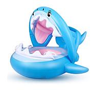 abordables -Jouets Gonflables de Piscine Flotteur de natation pour bébé Auvent pare-soleil avec siège de sécurité PVC / vinyle Requin Plaisir de l'eau Baignade à la plage d'été 1 pcs Garçons et filles Enfant Bébé