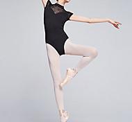 economico -Danza classica Calzamaglia / Pigiama intero Di pizzo Tinta unita Per donna Addestramento Prestazioni Fibbie Naturale Fibra di latte