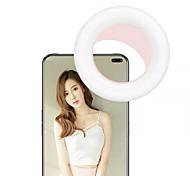 abordables -Lumière de remplissage pour téléphone portable Pour Samsung Universel Apple Téléphone et électronique Portable Mignon Lumière de remplissage pour téléphone portable ABS + PC