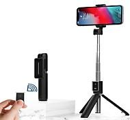 abordables -Bâton de selfie Bluetooth Extensible Longueur maximale 67 cm Pour Universel Android / iOS