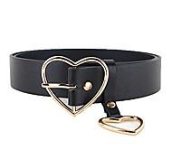 economico -donna signora moda oro argento cuore fibbia cintura in pelle jeans vestito fascia in vita (oro-3,3 cm)