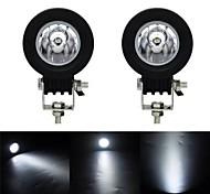 economico -otolampara 10w led luminoso moto bici lavoro motociclistico guida fendinebbia spot fascio bianco 6500k lampada led accessori auto barra luminosa luce di lavoro fari moto 2 pezzi