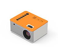 economico -28D Mini proiettore Proiettore Con LED 50 lm Correzione trapezoidale
