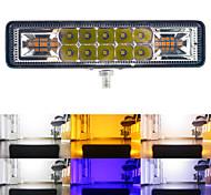 economico -1pc 48w led barra luminosa da lavoro flash stroboscopico 3030 16 led luce da lavoro per fuoristrada 4x4 atv suv moto rimorchio accessori auto 12-30 v
