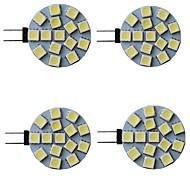 economico -4 pezzi 3 W Luci LED Bi-pin 300 lm G4 15 Perline LED SMD 5050 Bianco caldo Bianco Rosso 9-30 V