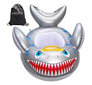 abordables -Jouets Gonflables de Piscine Flotteur de natation pour bébé Montez sur avec siège de sécurité PVC / vinyle Requin Plaisir de l'eau Baignade à la plage d'été 1 pcs Garçons et filles Enfant Bébé