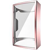 abordables -étui pour protecteur d'écran fitbit charge 4, étui de protection plaqué tpu souple couverture complète étui léger pour pare-chocs robuste