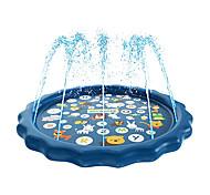 economico -Splash pad 3 in 1, irrigatore per bambini e piscina per bambini per l'apprendimento - piscina con irrigazione per bambini, giochi d'acqua gonfiabili da 60'' - piscina per bambini all'aperto