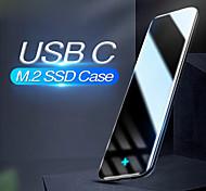 abordables -BASEUS USB 3.0 à SATA Boîtier de disque dur externe Antichoc CAYPH-D0G