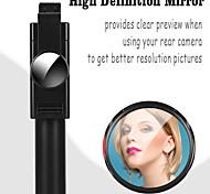abordables -k10 bluetooth selfie stick extensible tiktok youtube selfie stick avec miroir contrôle sans fil selfie stick pour samsung iphone xiaomi huawei smart devices