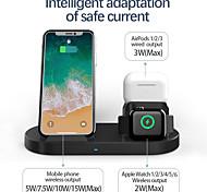 abordables -LITBest 15 W Puissance de sortie Chargeurs sans fil 3 en 1 Station de recharge sans fil Kit Chargeur RoHs CE FCC Pour Apple iPhone 12 11 pro SE X XS XR 8 Samsung Glaxy S21 Ultra S20 Plus S10 Note20