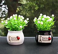 economico -decorazione per auto ornamento pianta di buon auspicio frutta in vaso decorazione console centrale auto prodotti interni auto accessori auto