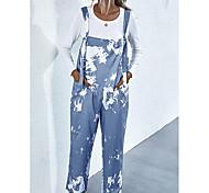 abordables -vêtements pour femmes transfrontalières 2020 été amazon ebay vente chaude imprimé tie-dye bretelle poche bavoir 2238