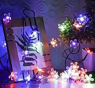 abordables -guirlande lumineuse LED 7m 50 leds ensemble étanche extérieur support de montage multi couleur fête de mariage vacances mariage 2 v